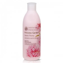 Princess Garden Sweet Peony Shower & Bath Cream