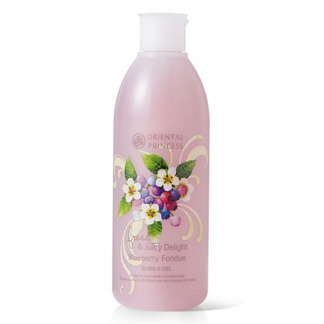Oriental Princess Fresh & Juicy Delight Blueberry Fondue Bubble Gel