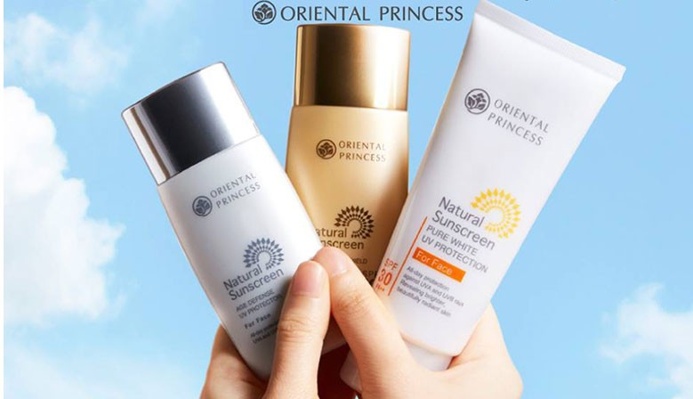 Oriental Princess Natural Sunscreen