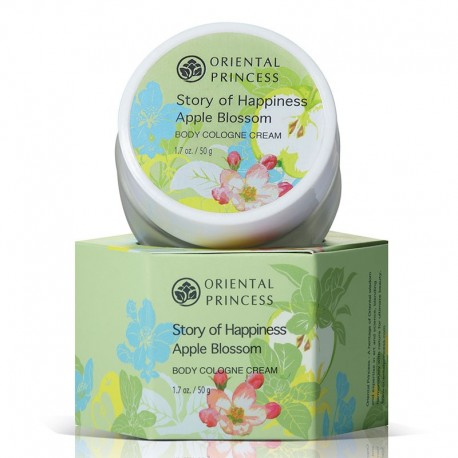 Oriental Princess Body Cologne Cream - Apple Blossom