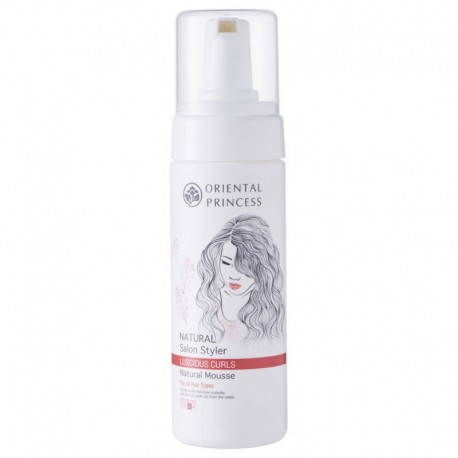 Oriental Princess Natural Salon Styler Luscious Curls Natural Mousse