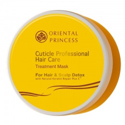 Cuticle Professional Hair Care Treatment Mask for Hair & Scalp Detox
