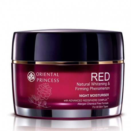 Oriental Princess RED Natural Whitening & Firming Phenomenon Night Moisturiser