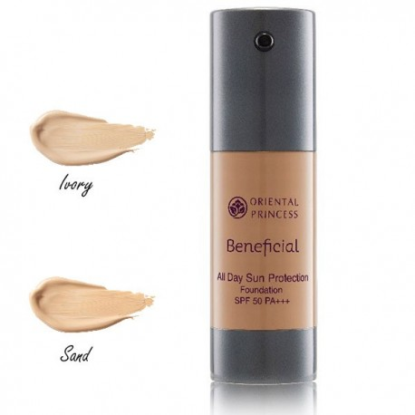 Oriental Princess Beneficial All Day Sun Protection Foundation SPF 50 PA+++