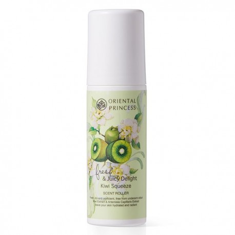 Oriental Princess Fresh & Juicy Delight Kiwi Squeeze Scent Roller