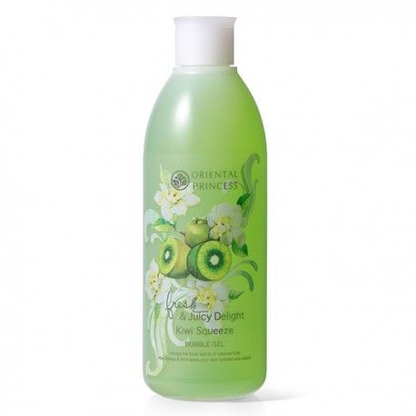 Oriental Princess Juicy Delight Kiwi Squeeze Bubble Gel
