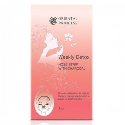Oriental Princess Weekly Detox Nose Strip with Charcoal