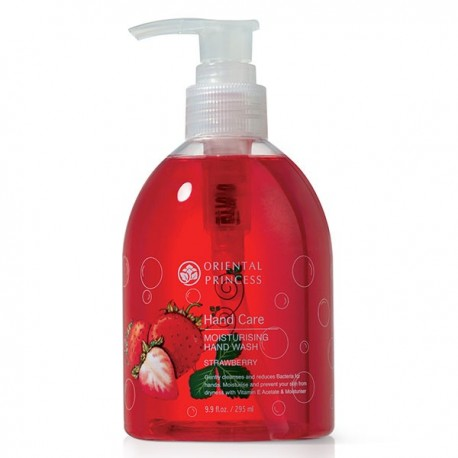 Oriental Princess Hand Care Moisturising Hand Wash Strawberry