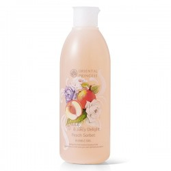 Fresh & Juicy Delight Peach Sorbet Bubble Gel