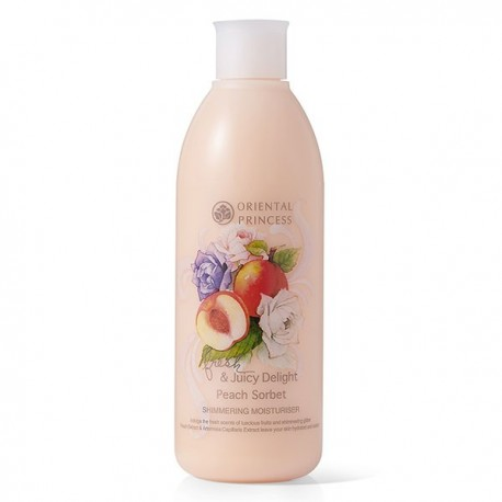 Oriental Princess Fresh & Juicy Delight Peach Sorbet Shimmering Moisturiser